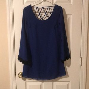 Charlotte Russe royal blue dress